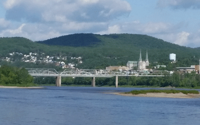 The Edmundston-Madawaska Bridge crossing the St. John River is 94 years old and in need of replacement.  Because it is an international border crossing, navigating state, federal and municipal approvals  will take time.