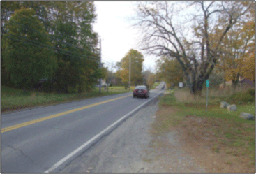 Route 1A in Ellsworth, a popular bike route, lacks shoulders for cyclists.