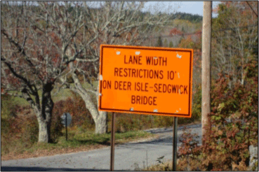 The 70-year-old Deer Isle-Sedwick Bridge is scheduled for a $3 million rehab project, but there are no plans for reconstruction.